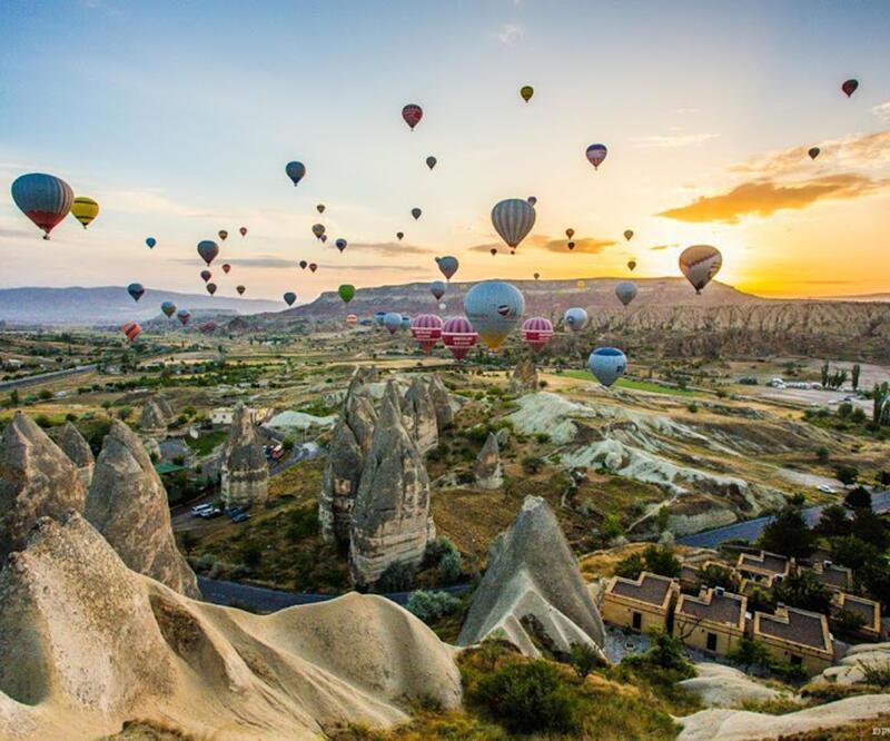 Nevşehir'de feci balon kazası: 1 ölü