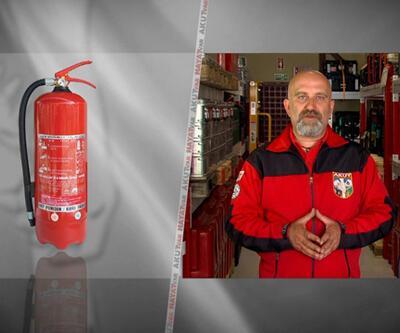 Yangın söndürücü tüp nasıl kullanılır?