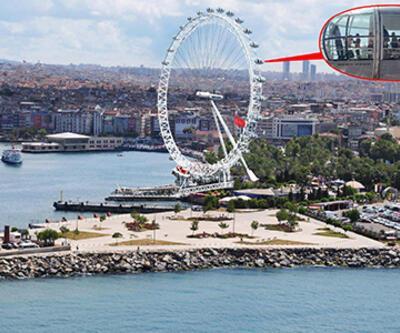 """Kadıköy için """"London Eye"""" projesi başkanın masasında"""