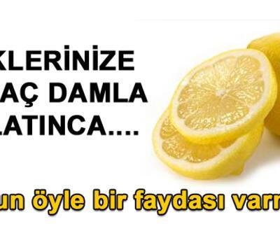 Limonlu suyun 8 faydası