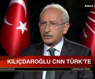 CHP Lideri Kemal Kılıçdaroğlu CNN TÜRK ve Kanal D ortak yayınında