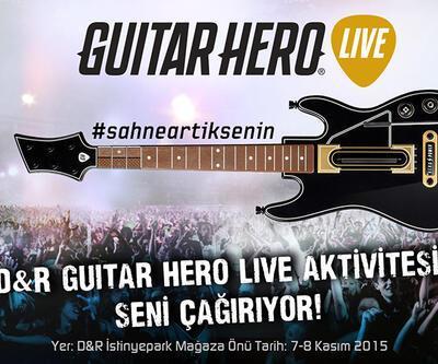 D&R Guitar Hero Live Aktivitesi Sizi Çağırıyor