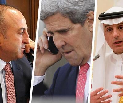 Dışişleri Bakanı Çavuşoğlu ABD'li ve Suudi mevkidaşlarıyla telefonda görüştü
