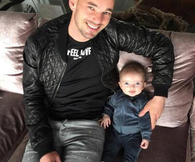 Wesley Sneijder bir fotoğraf paylaştı sosyal medya yıkıldı!
