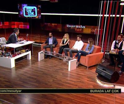 Mesut Yar'ın konukları: 'Şeytan Tüyü' filmi oyuncuları