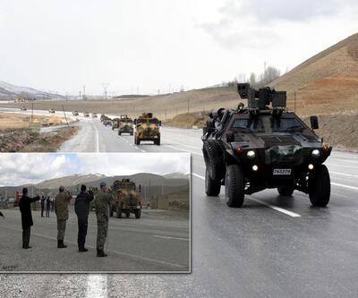 """Özel birlikler """"Ölürüm Türkiyem""""le uğurlandı"""