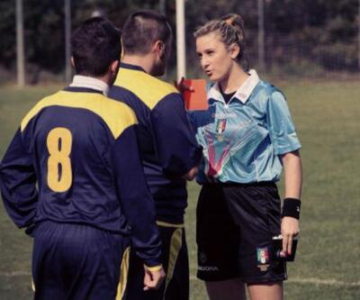 Kadın hakeme ütü yap diyen futbolcuya 3 ay ceza