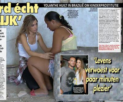 Sneijder'ın eşi 3 bin 700 genç kızı fuhuştan kurtardı