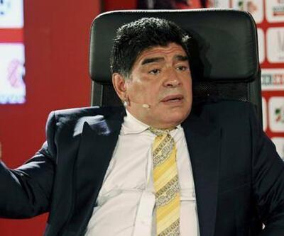 Maradona'ya havalimanında pasaport şoku