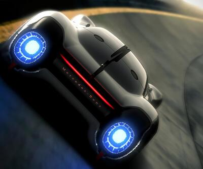 Jet motorlu Mercedes konsepti