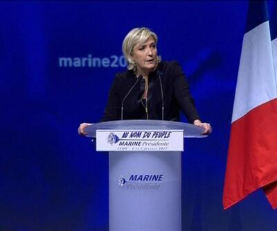 Le Pen: Fransa'ya diz çöktürmek istiyorlar ama olmayacak