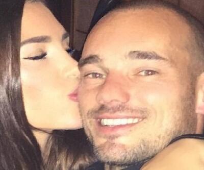 Sneijder'den eşine milyonluk hediye
