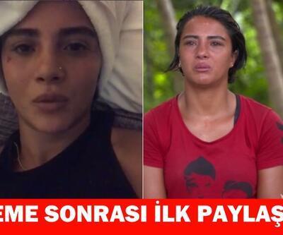2017 sezonunun favorilerinden Survivor Sabriye Şengül eleme sonrası Instagram'da video paylaştı