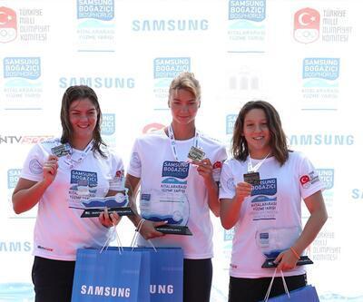 Kıtalararası Yüzme Yarışı'nda Rus yüzücüler kazandı