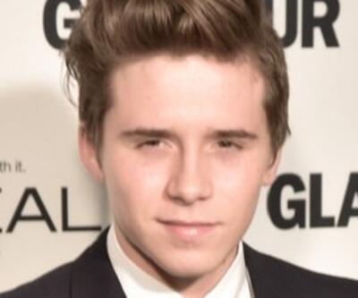 David-Victoria Beckham'ın oğlu Brooklyn kameralara yakalandı