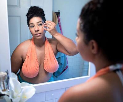 Yeni moda: Göğüs havlusu