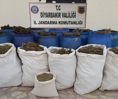Diyarbakır'da jandarma yarım ton uyuşturucu ele geçirdi