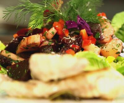 Can Oba'dan sirkeli ballı şalgam salatası