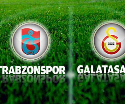 Trabzonspor-Galatasaray maçı muhtemel 11'leri