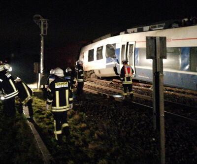 Son dakika... Almanya'da tren kazası: Çok sayıda yaralı var