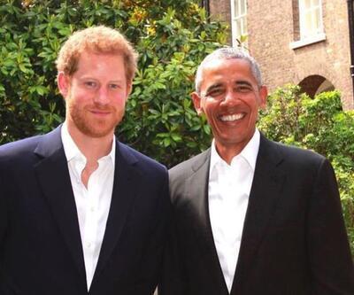 Prens Harry Obama'yla röportaj yaptı