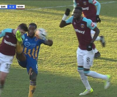 West Ham'lı futbolcunun dişleri döküldü