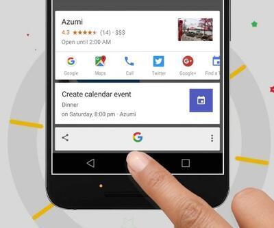 Google Asistan gaza basıyor