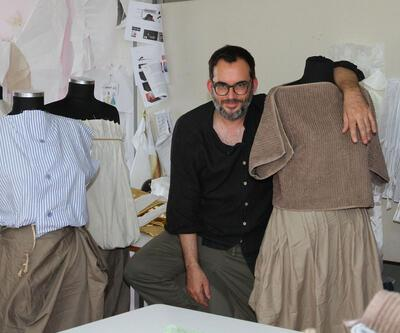 Perdeden havluya eski malzemeler kıyafetlere dönüşüyor