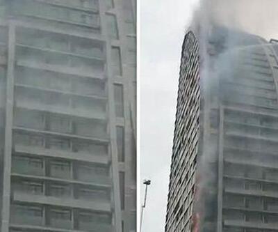 Bakü'deki Trump Towers'da yangın