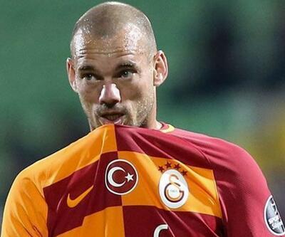 Wesley Sneijder: Galatasaray'dan ayrılmaya hazır değildim