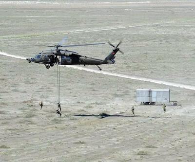 Düşman hattında pilot kurtarma tatbikatı