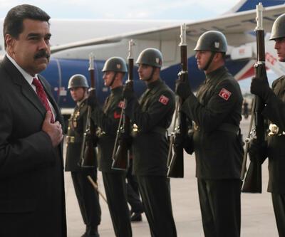Venezuela Devlet Başkanı Maduro: Erdoğan'ın törenine katılmaktan onur duydum