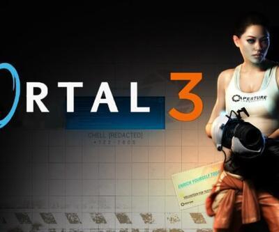 Valve, Portal 3 için kapıyı araladı