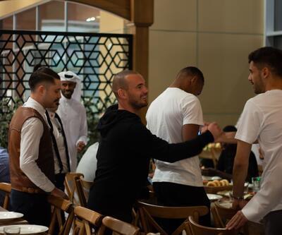 Sneijder Türk yemeklerini tercih ediyor