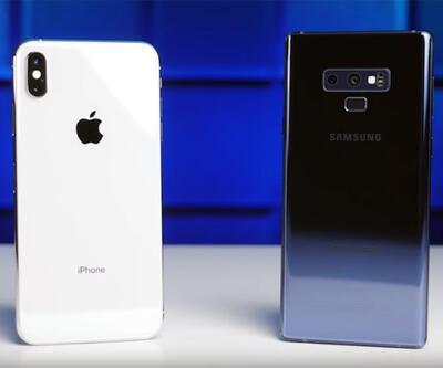 iPhone Xs Max vs Note 9 kamera karşılaştırması