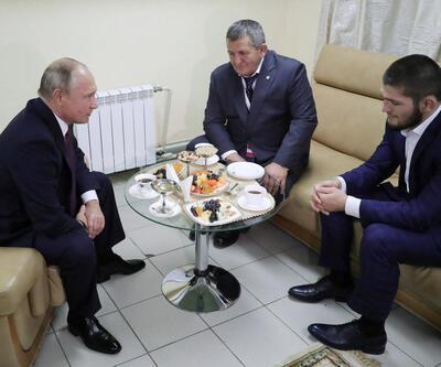 Putin, Khabib'i babasının öfkesinden kurtardı