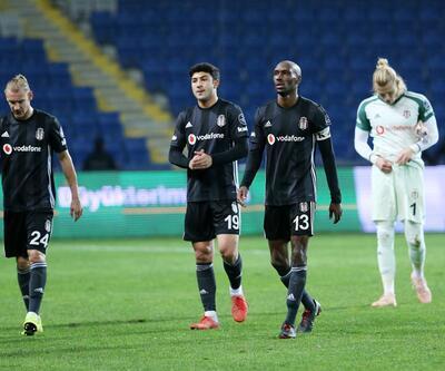 Beşiktaş deplasmanda 5 maçtır kazanamıyor