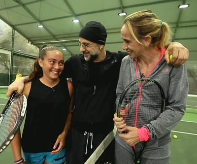 Hayal Et, geleceğin yıldız adayı minik tenisçinin hayalini gerçeğe dönüştürdü
