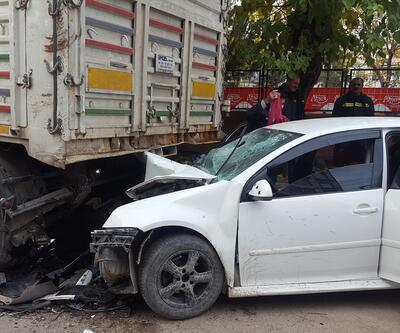 Diyarbakır'da trafik kazası: 1 ölü, 1 yaralı