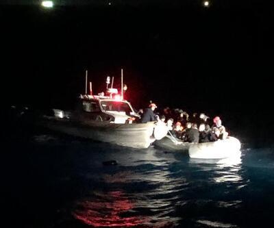 Didim'de 136 göçmen yakalandı