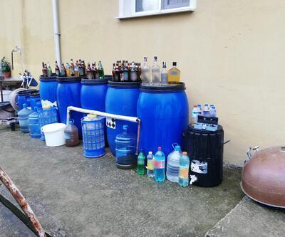 Yalova'da sahte içki operasyonu