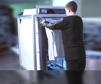 Küçük boyutlu çamaşır katlayan robot üretildi