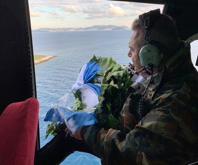İstifa eden Yunanistan Savunma Bakanı Kardak'a uçtu