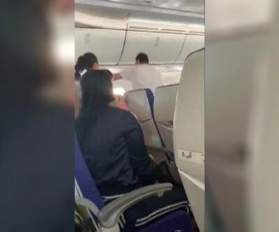 Alkollü yolcu uçağı birbirine kattı!