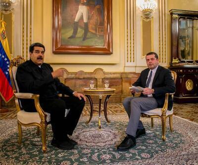Son dakika: Nicolas Maduro CNN TÜRK'te