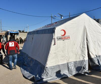 Türk Kızılayı'ndan Kerküklü göçmenlere yardım