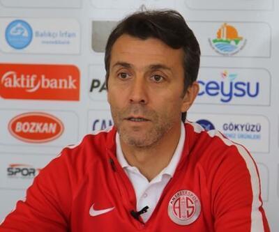Antalyaspor'da ilk hedef 41 puan