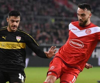 Bundesliga'da Türklerin maçında Düsseldorf kazandı