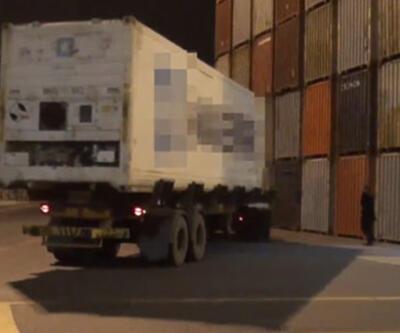 Muz konteynerinde ele geçirildi! Piyasa değeri 40 milyon lira...