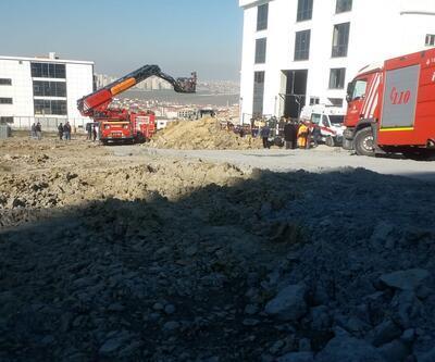 Esenyurt'ta toprak kayması: 1 işçi öldü